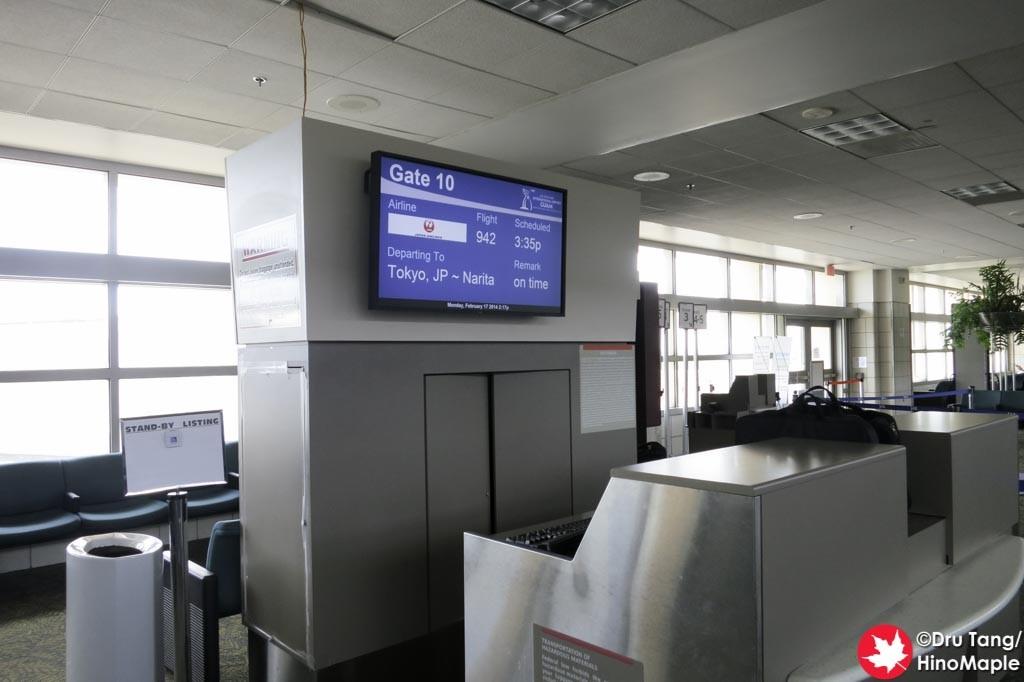 Guam Airport, Departure