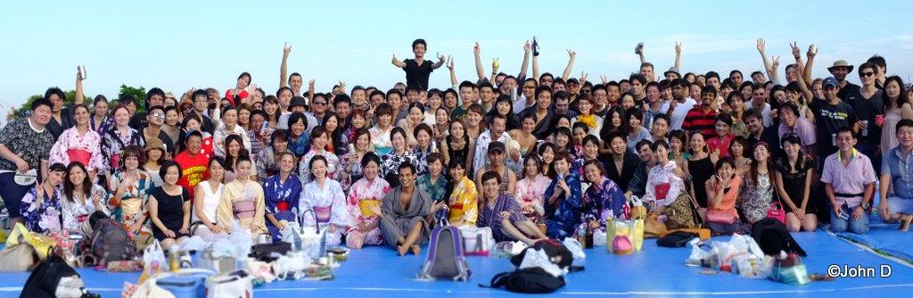 2014 Edogawa Fireworks (Group Photo at 5pm)