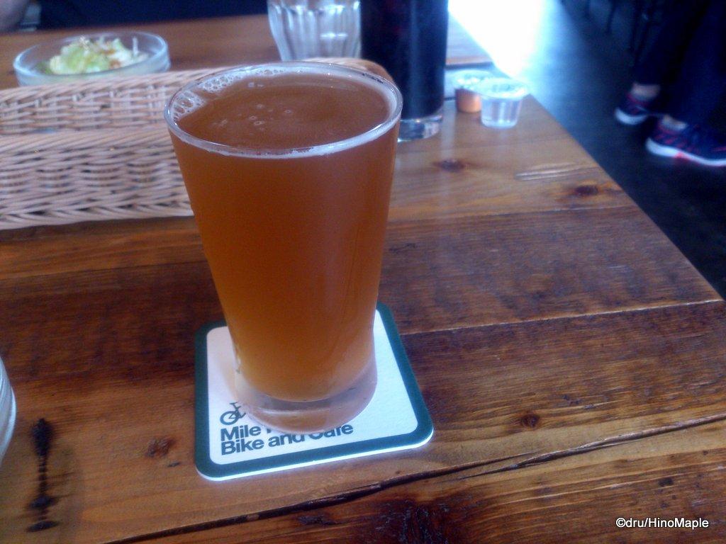 Beer at Mile Post Cafe