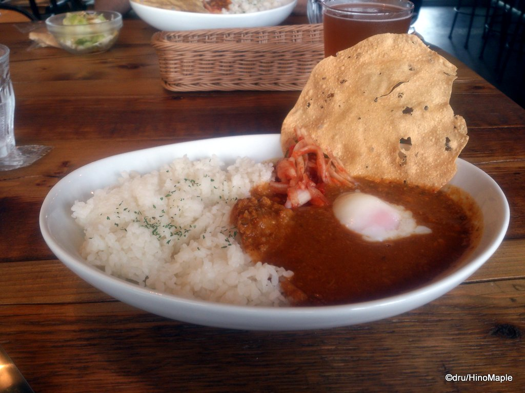 Keema Curry at Mile Post Cafe