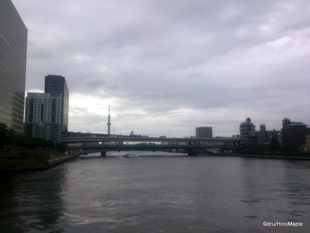 Sumida River Near Mile Post Cafe