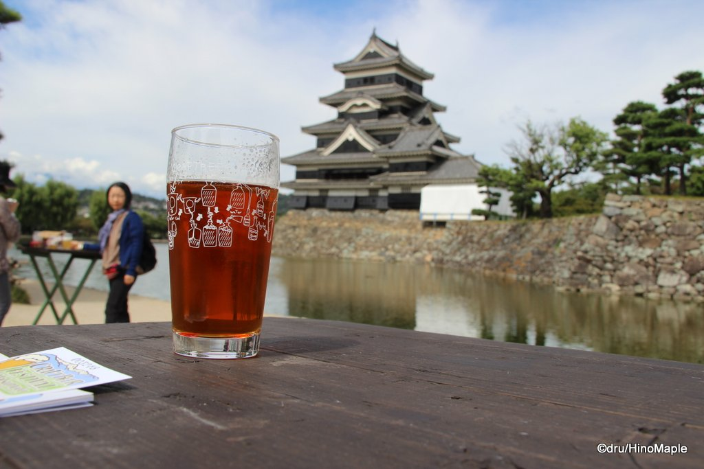 Better view of Matsumoto Castle