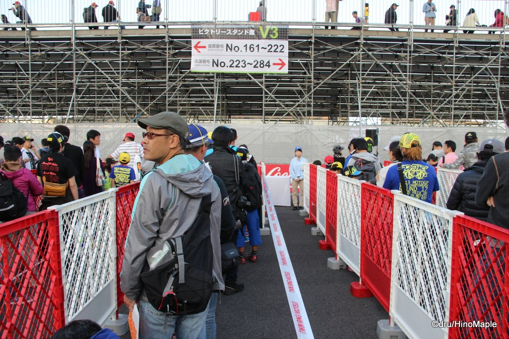 Autograph Session @ 2014 Motul Grand Prix of Japan