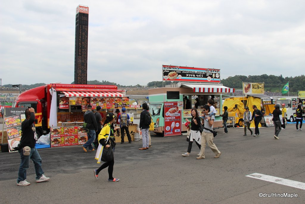 Food Trucks @ 2014 Motul Grand Prix of Japan