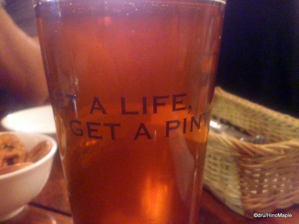 Get A Life, Get A Pint