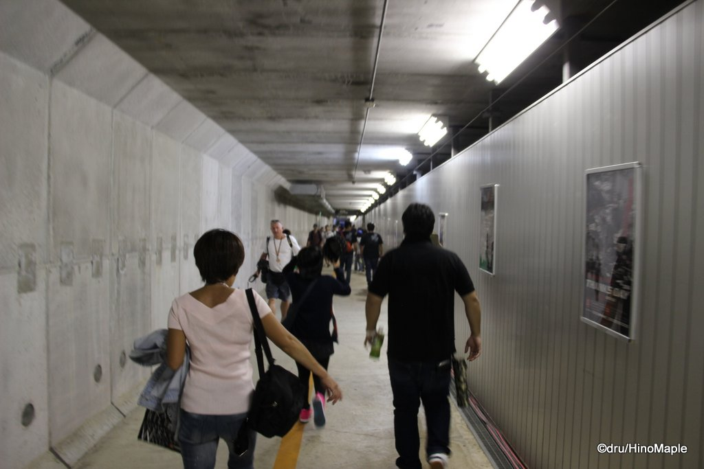 Tunnel to the Motegi Paddock