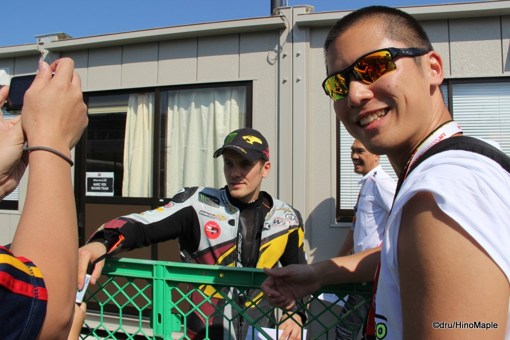 Next to Mika Kallio