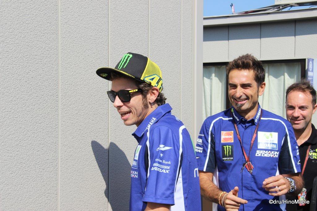 Valentino Rossi & Matteo Flamigni