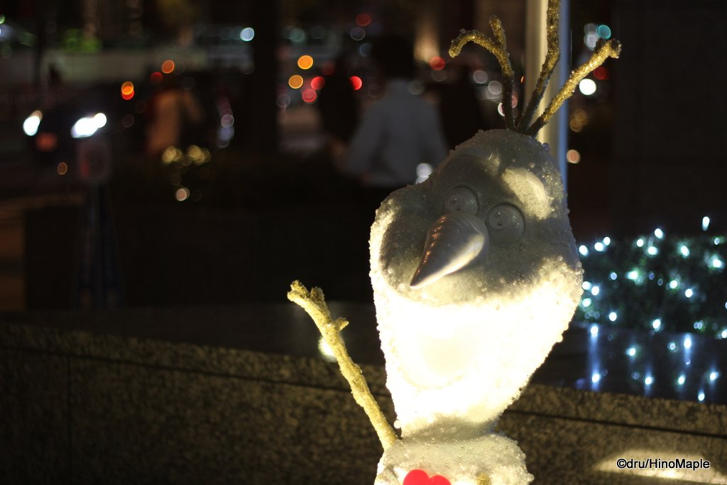 2014 Olaf (In Front of Otemachi First Square)