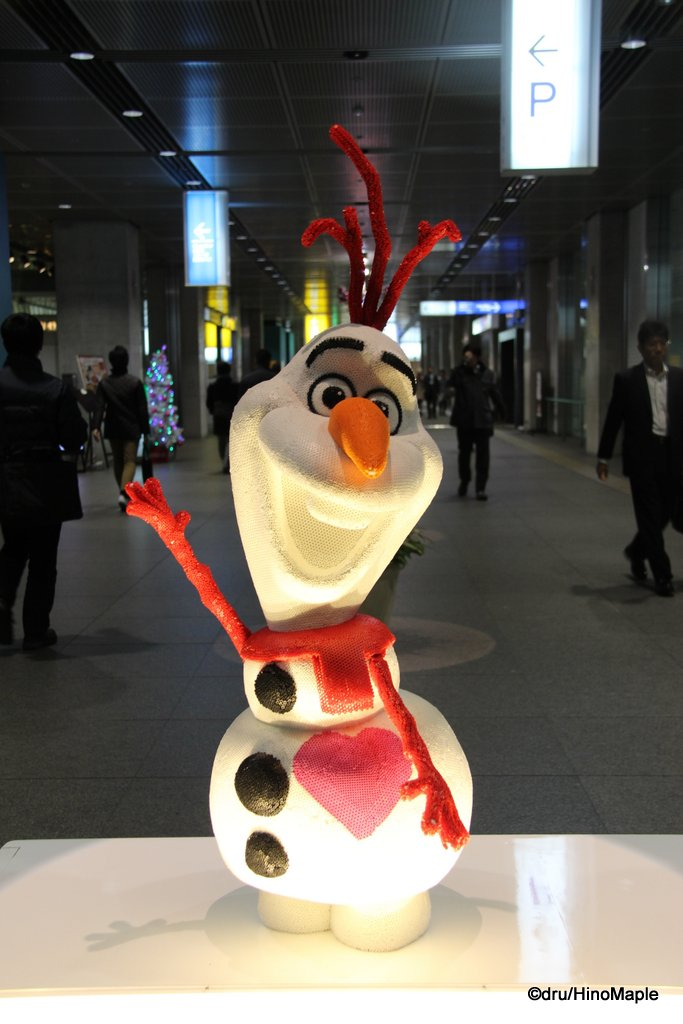 Olaf in the Tokyo International Forum