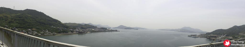View from Ikuchi Bridge
