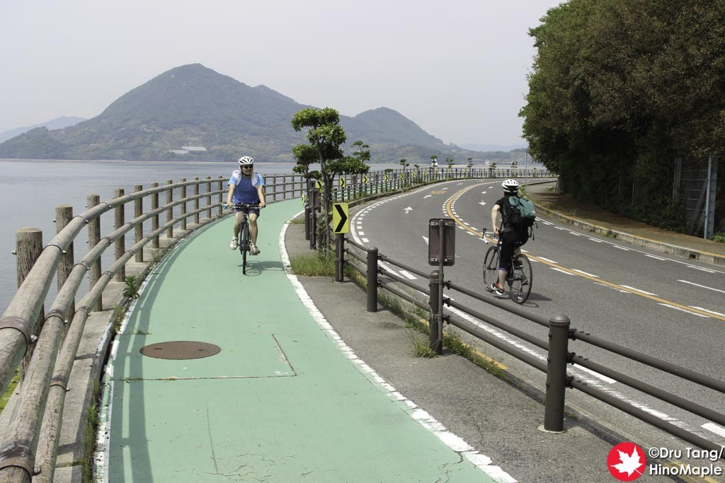 Cycling on Ikuchijima (View Behind Me)