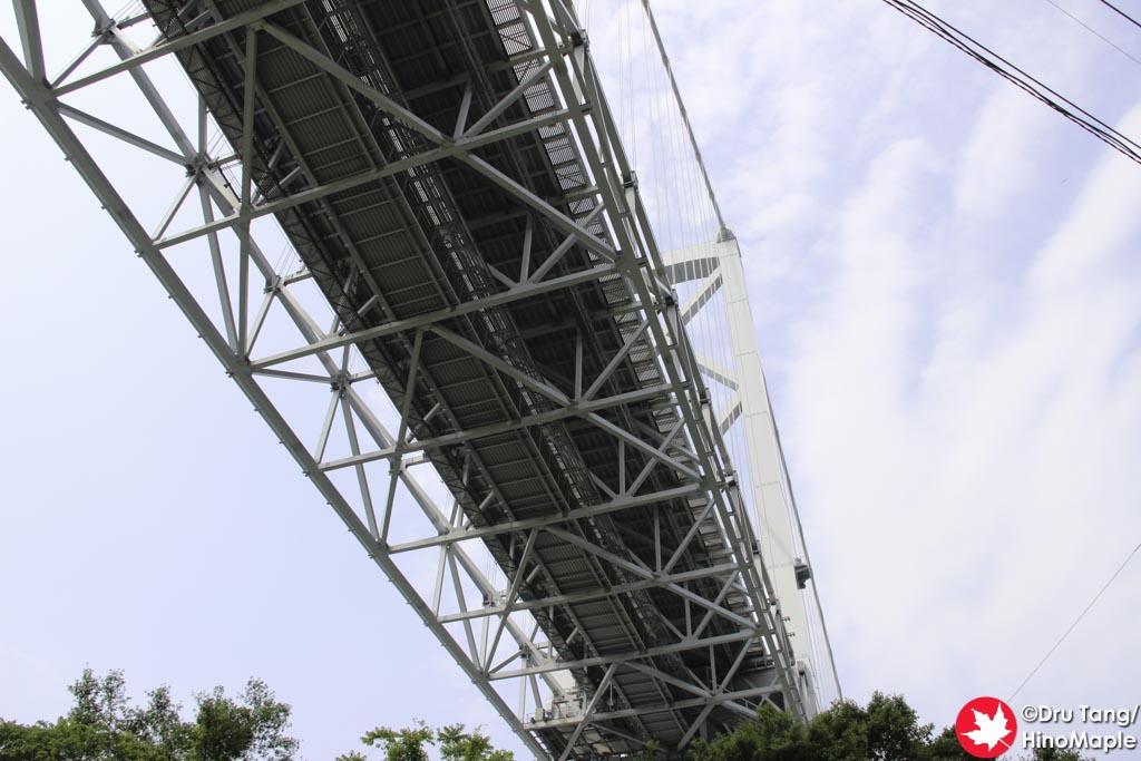 Under Innoshima Bridge from Mukaishima