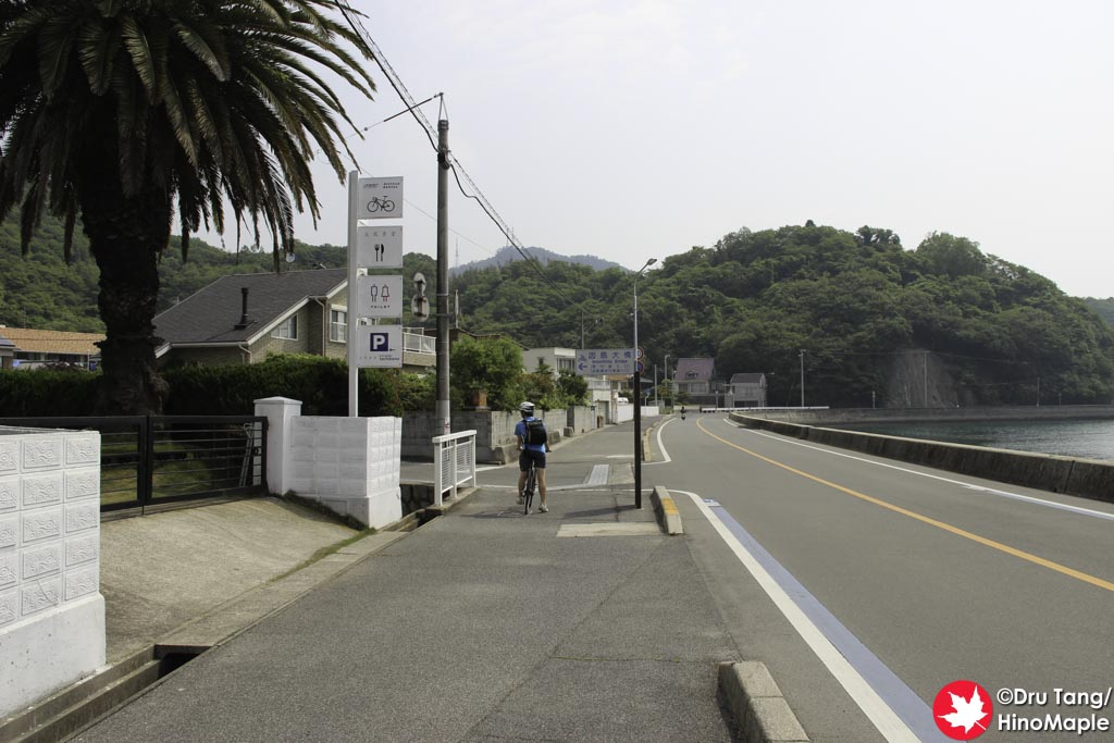 Cafe at the Base of the Approach to Innoshima Bridge