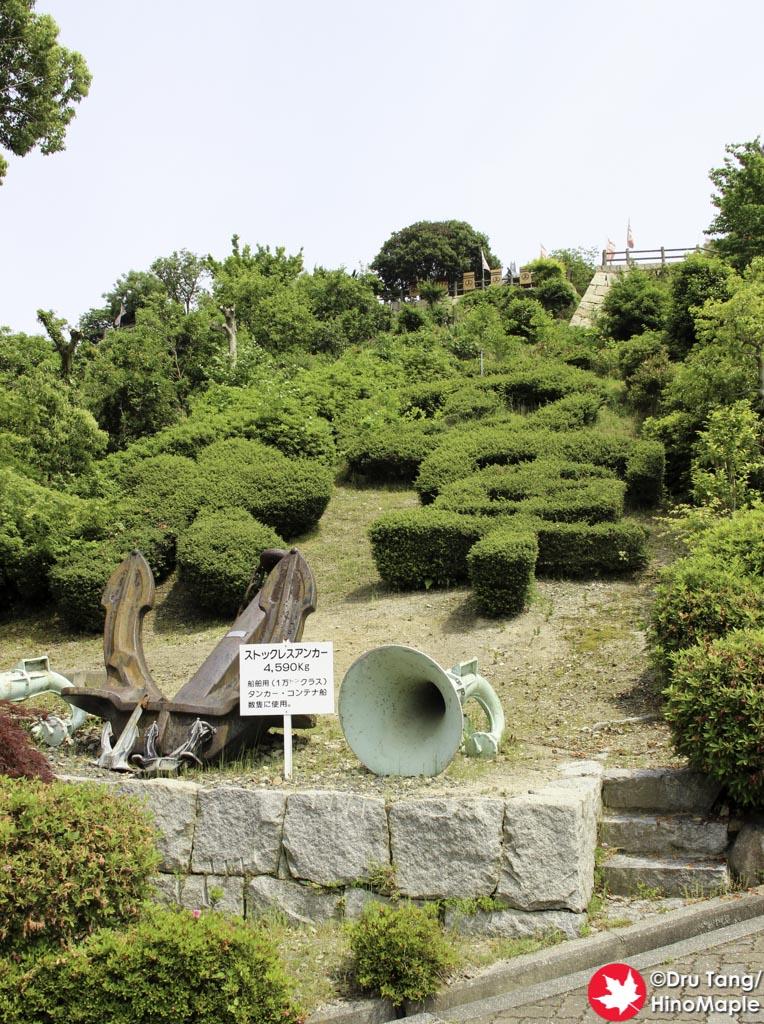 Anchors at Innoshima Suigun Castle