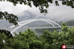 View of Omishima Bridge from Hanaguriseto