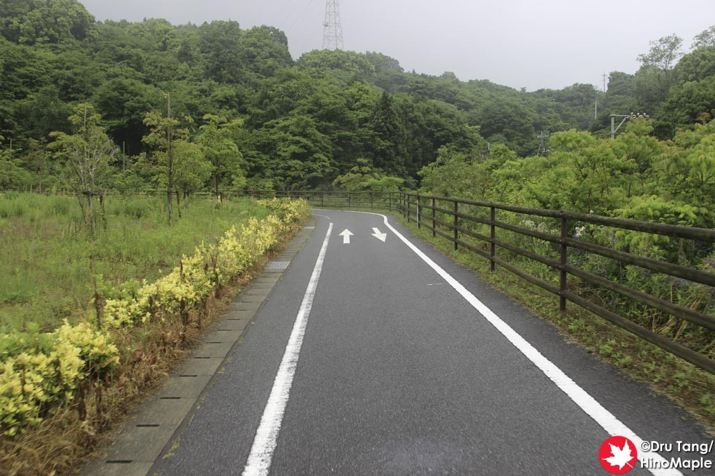 Approach to Omishima Bridge