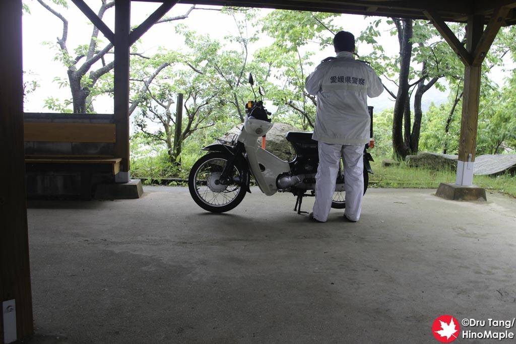 Police at Hanaguriseto