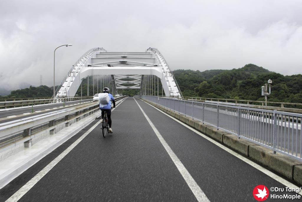 Crossing Omishima Bridge