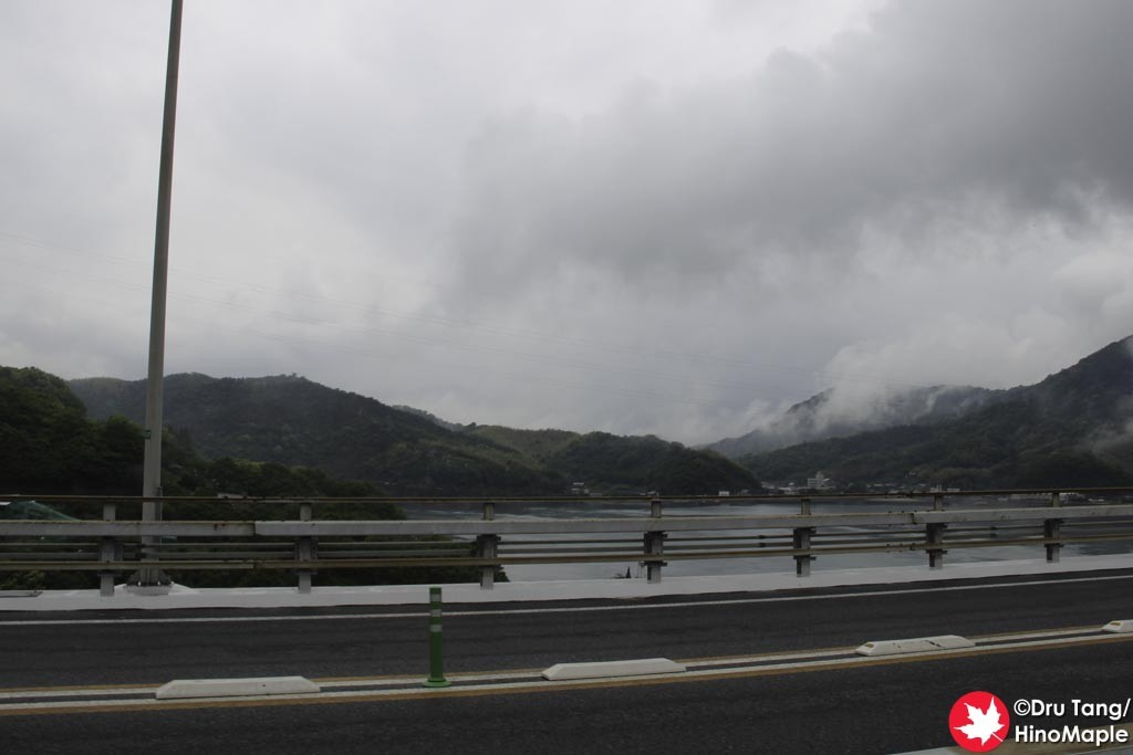 View from Omishima Bridge
