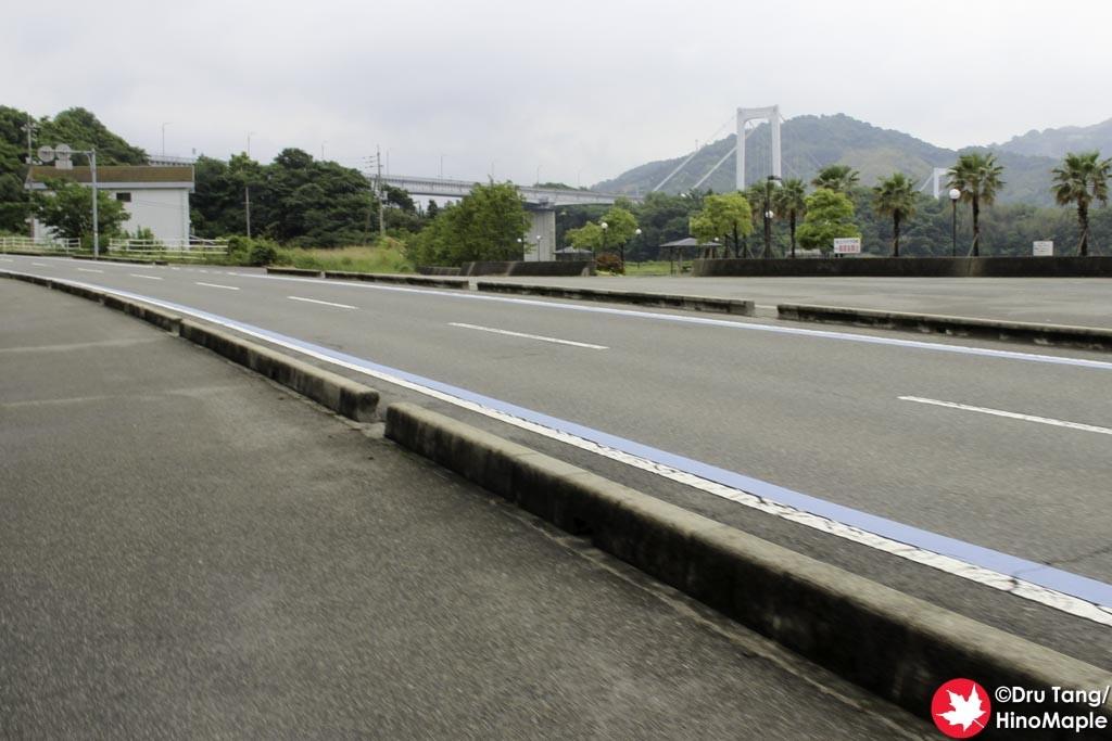 Hakatajima (Heading to Hakatajima Oshima Bridge)
