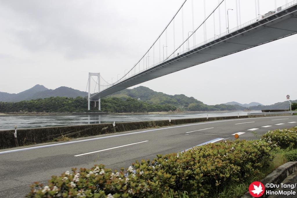 View of Oshima Bridge on Oshima