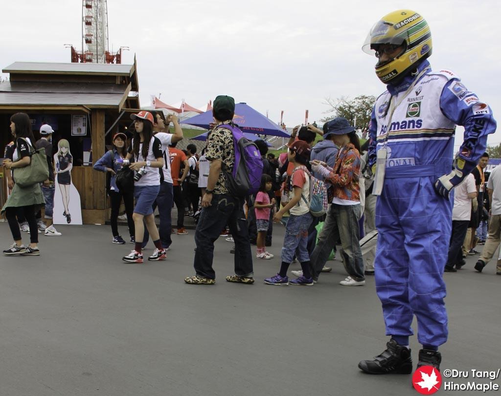 Aryton Senna? Alive?