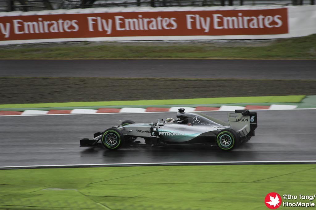 Lewis Hamilton @ Final Chicane
