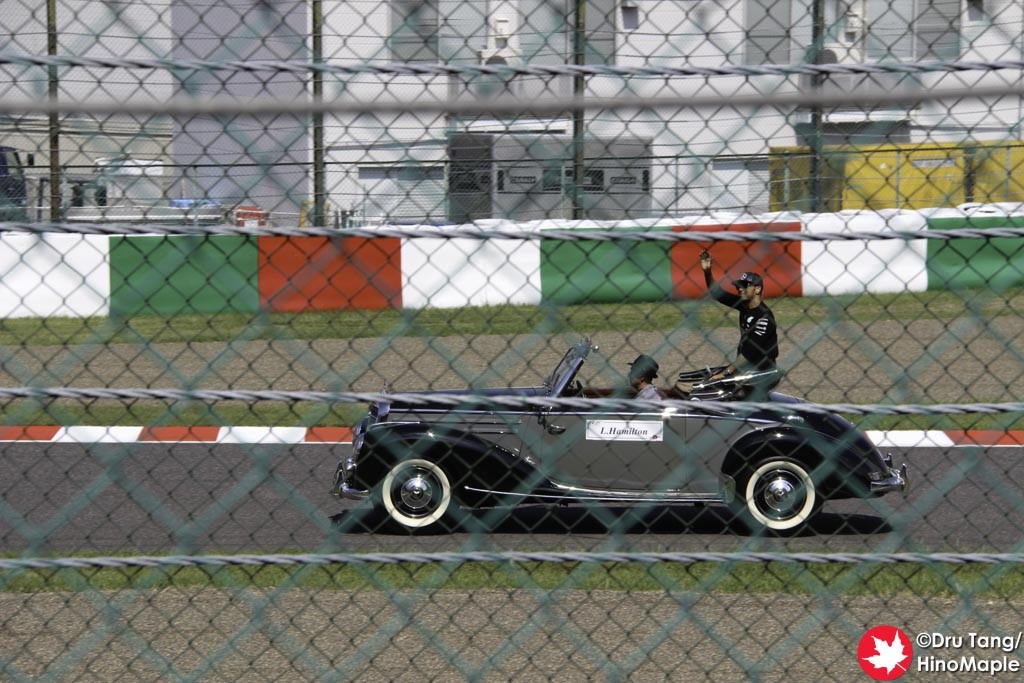 Lewis Hamilton During the Drivers Parade
