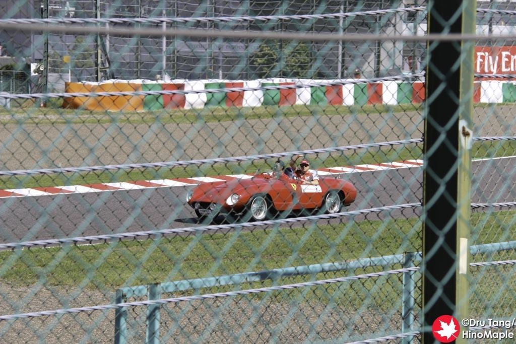 Kimi Raikkonen During the Drivers Parade