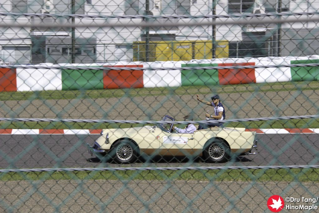Felipe Massa During the Drivers Parade