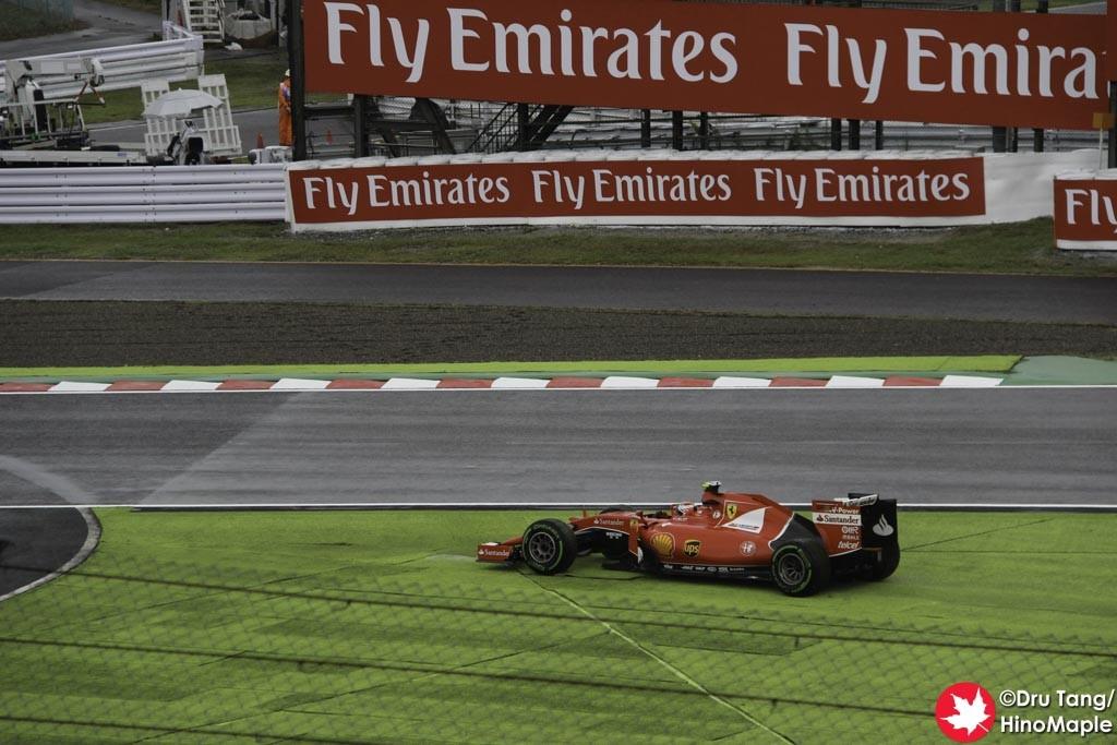 Kimi Raikkonen @ Final Chicane