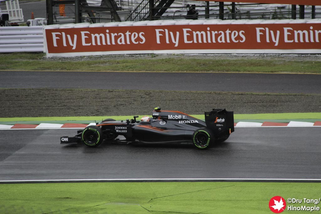 Jenson Button @ Final Chicane