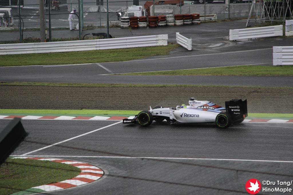 Felipe Massa @ Final Chicane
