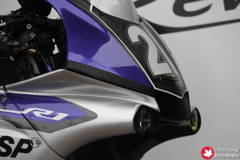 Yamaha Booth (Suzuka 8 Hours Race Winning Yamaha R1)