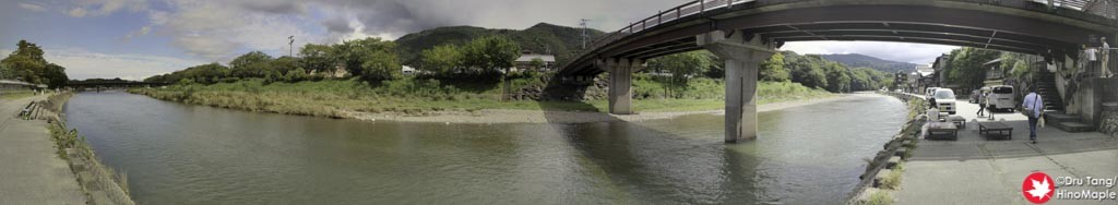 Behind Akafuku on the River