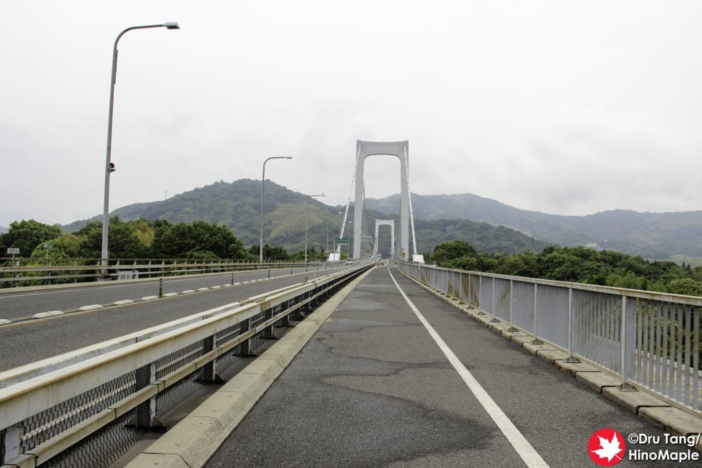 Hakata Bridge looking at Oshima Bridge