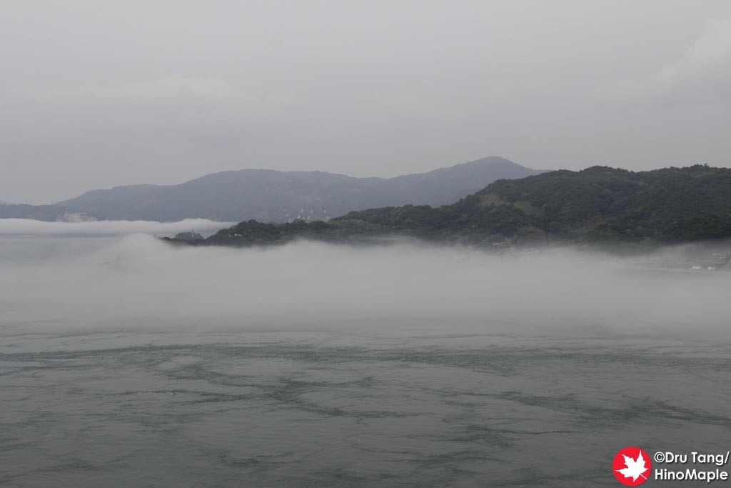 View from the First Anchorage (From Oshima) of the Kurushima Kaikyo Bridge