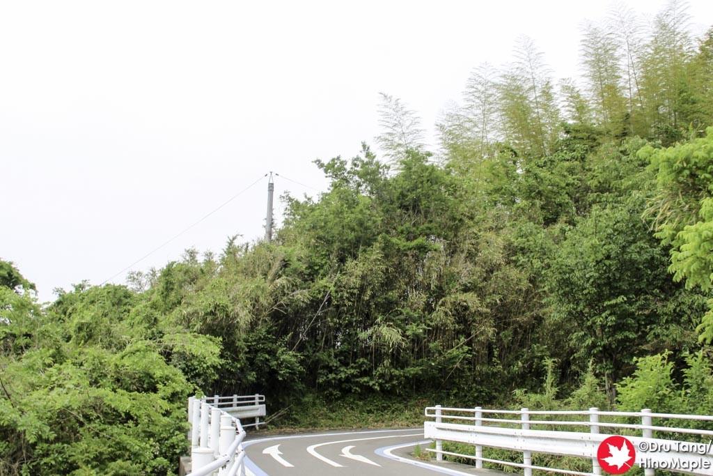 Lower Half of the Approach to the Kurushima Kaikyo Bridge