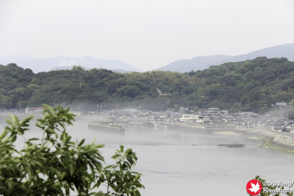View from the Lookout at the Kurushima Kaikyo Bridge
