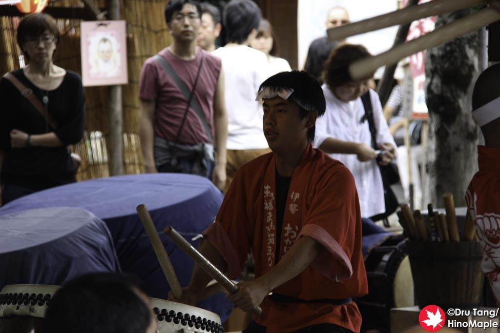 Taiko Drummer at Okage Yokocho