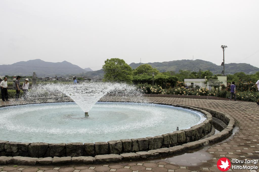 Fountain at the Yoshiumi Rose Garden