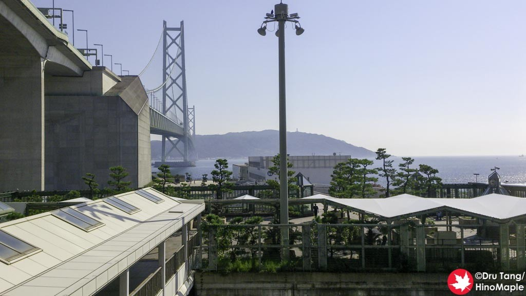 Akashi Kaikyo Bridge from the Shopping Mall