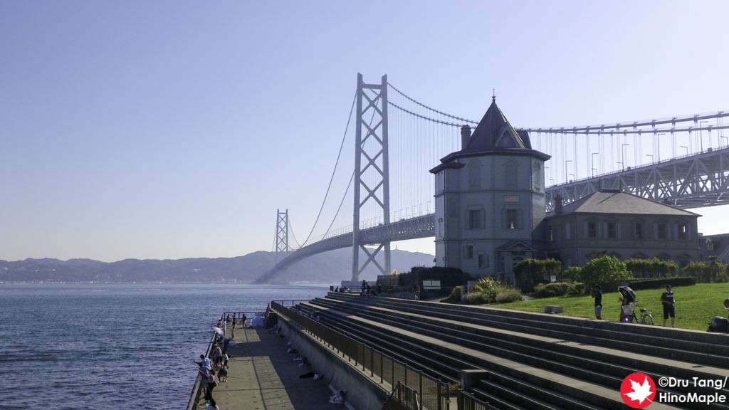 Akashi Kaikyo Bridge from the Park