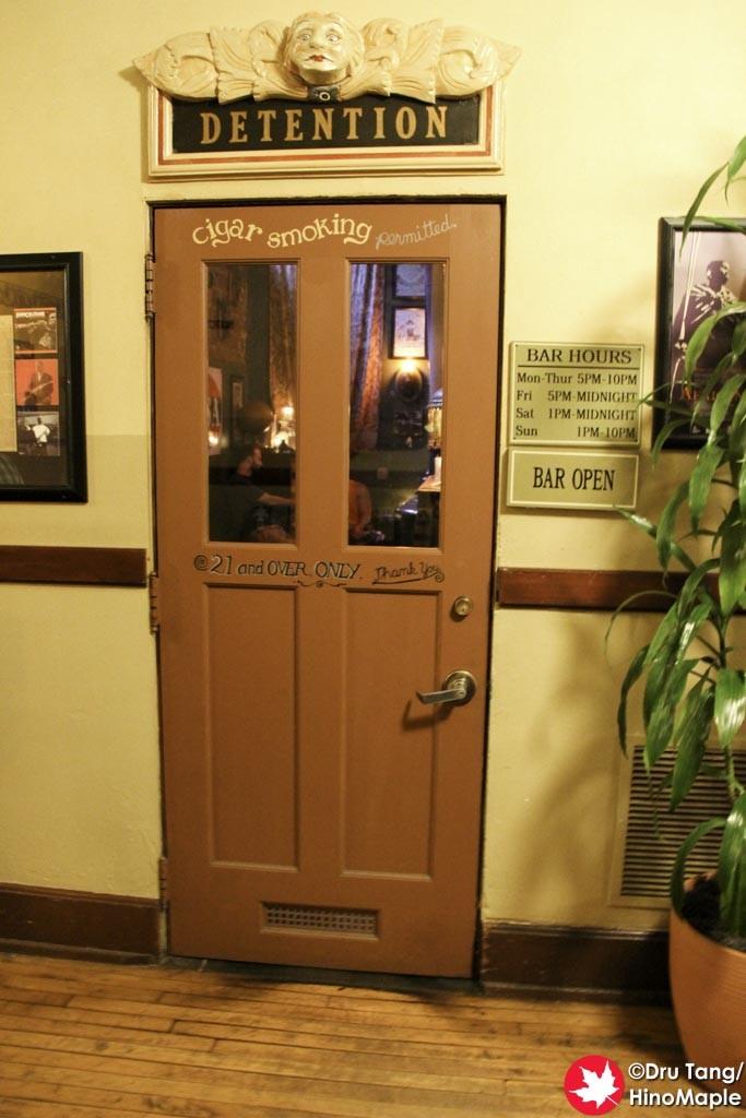 Detention Bar