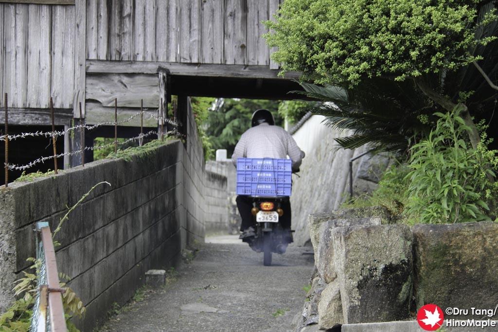Road in Onomichi