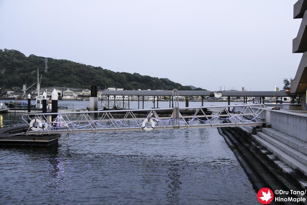 Wharf near Poppo-Ya