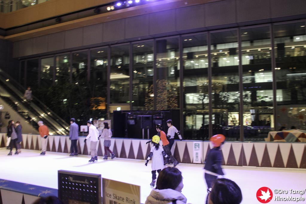 2015 Christmas in the Marunouchi Building (Skating Rink)