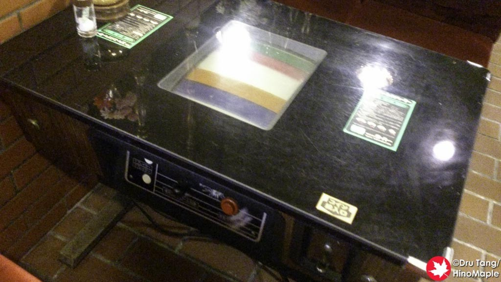 Old Video Game Table