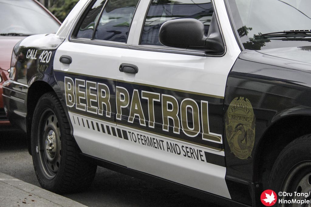 Fremont Brewing Patrol Car